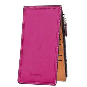Handbags - Womens Thin Multi Card Case Organizer Wallet